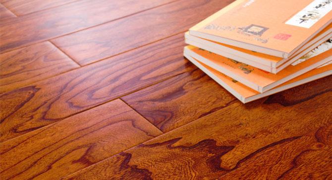 多层实木地板--榆木浮雕703